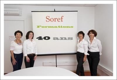 SOREF :40 ans, remerciements et histoire